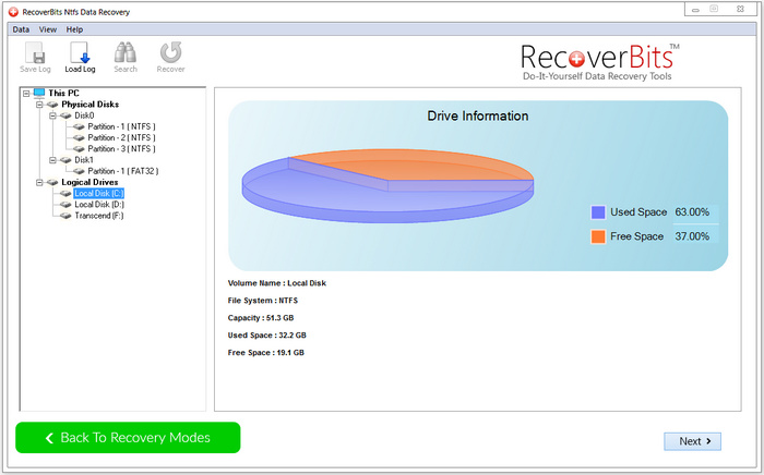 RecoverBits NTFS Data Recovery Full