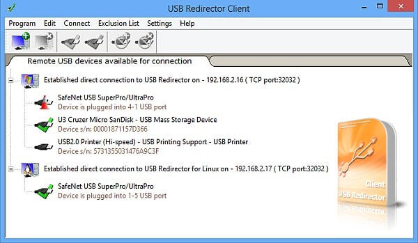 USB Redirector Client Full