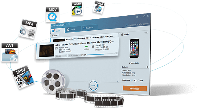iFunsoft Format Package Pro Full indir