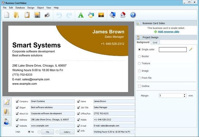 AMS Software Business Card Maker Full