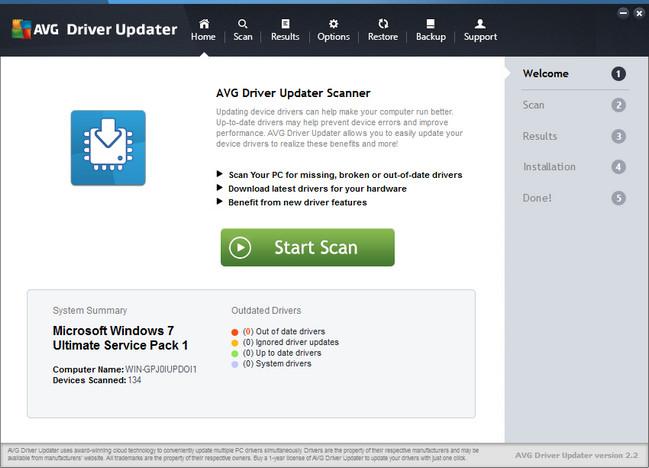 AVG Driver Updater Full
