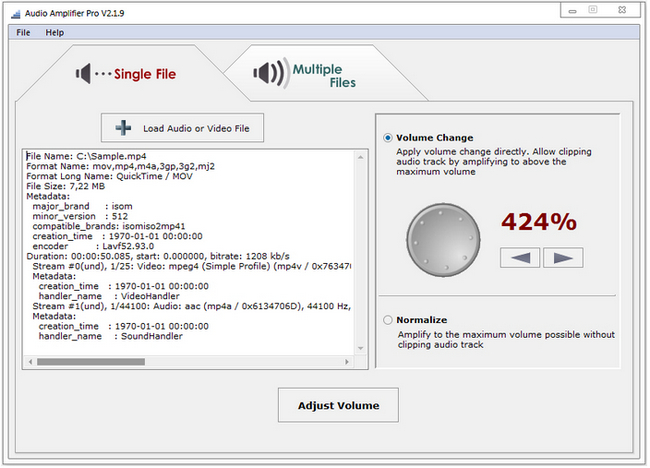 Audio Amplifier Pro Full