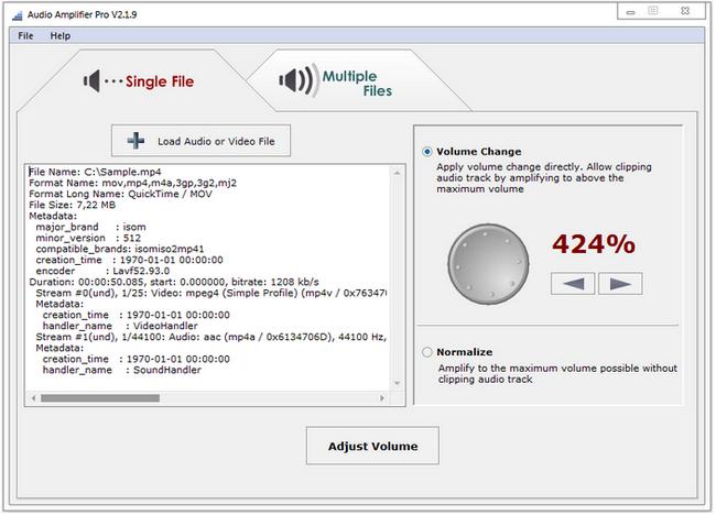 Audio Amplifier Pro Full