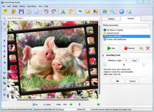 AMS Software Home Photo Studio Gold Full