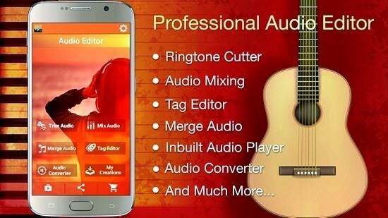 Audio MP3 Cutter Mix Converter PRO Full Apk