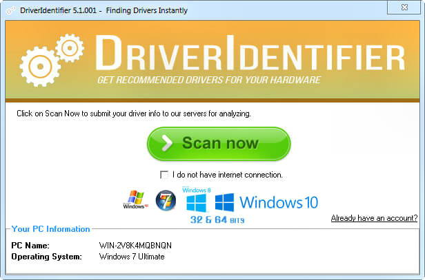 DriverIdentifier Full