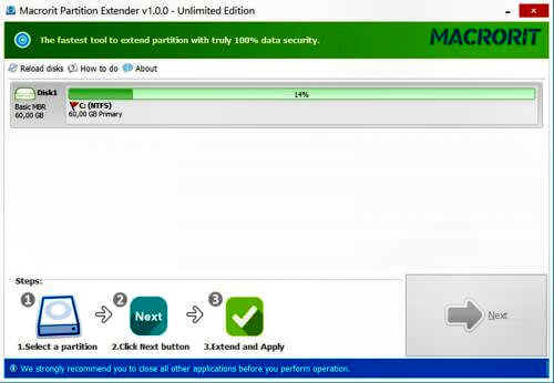 Macrorit Partition Extender Full