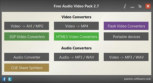 Pazera Audio Video Pack indir