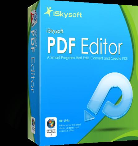 iSkysoft PDF Editor Full