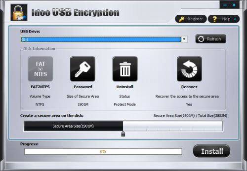 Idoo USB Encryption Full