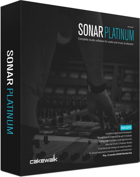 Cakewalk SONAR Platinum Full