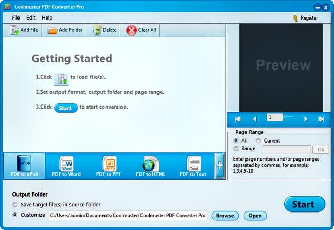 Coolmuster PDF Converter Pro Full
