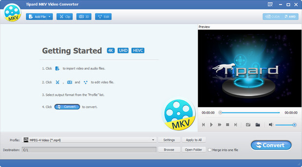 Tipard MKV Video Converter Full