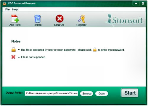 iStonsoft PDF Password Remover Full