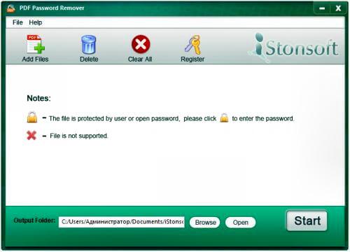 iStonsoft PDF Password Remover Full