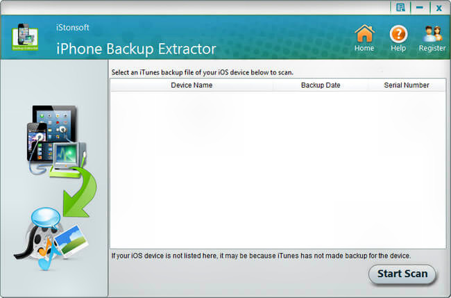 iStonsoft iPhone Backup Extractor Full