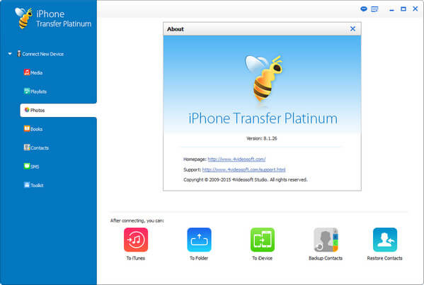 4Videosoft iPhone Transfer Platinum Full
