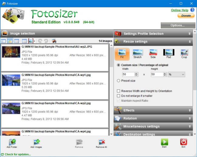 FotoSizer Full