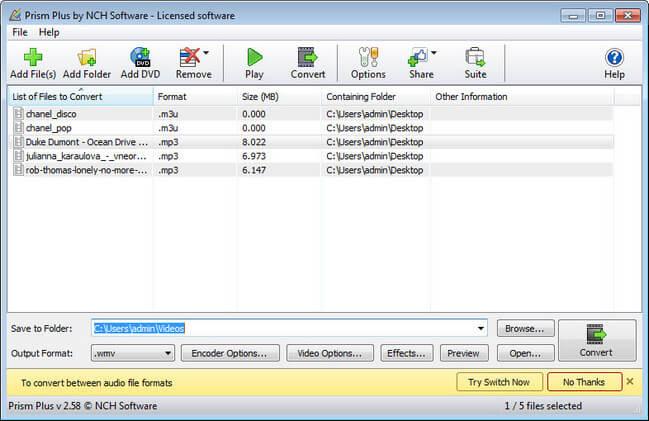 Prism Video File Converter Plus Full