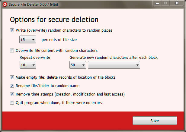 Secure File Deleter Full