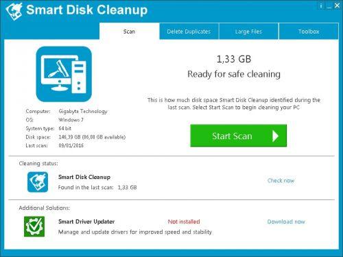 Smart Disk Cleanup Full