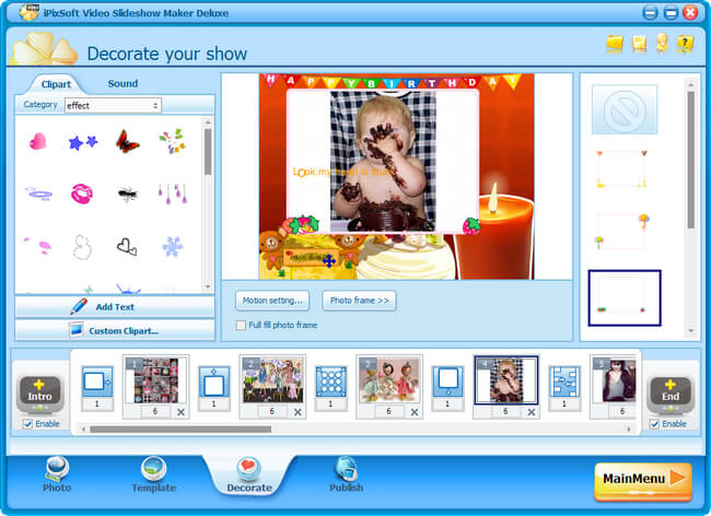 iPixSoft Video Slideshow Maker Deluxe Full