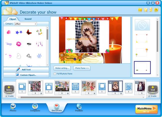 iPixSoft Video Slideshow Maker Deluxe Full