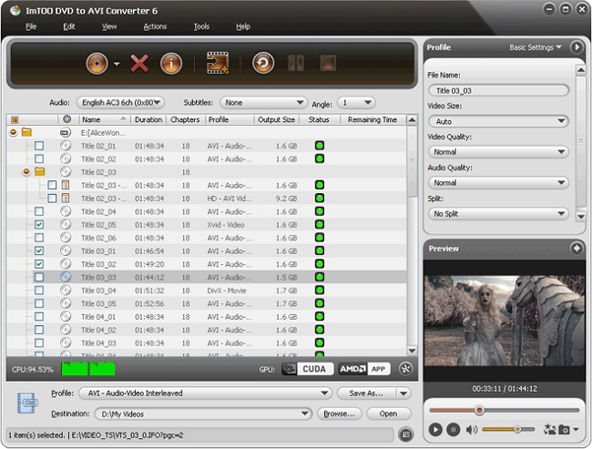 imTOO DVD to AVi Converter Full