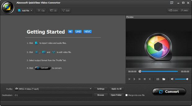 Aiseesoft QuickTime Video Converter Full