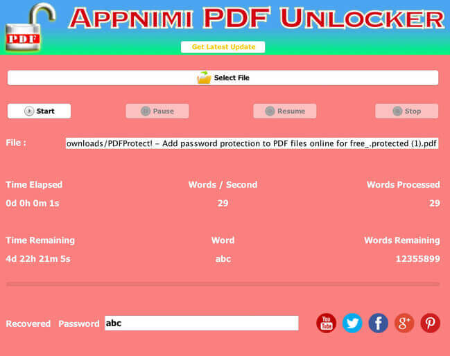 Appnimi PDF Unlocker Full