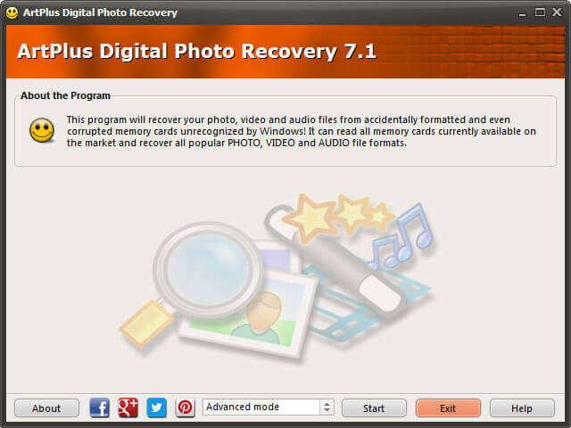 ArtPlus Digital Photo Recovery Full