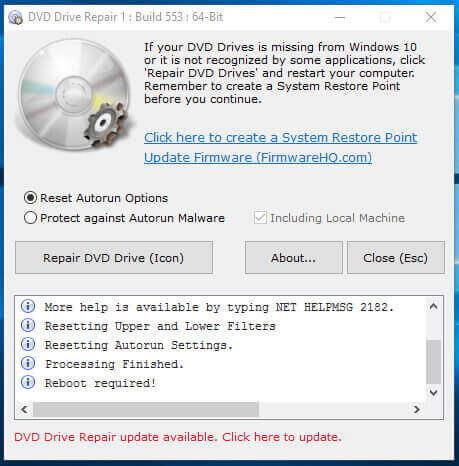 DVD Drive Repair Full