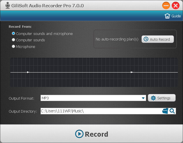 GiliSoft Audio Recorder Pro Full