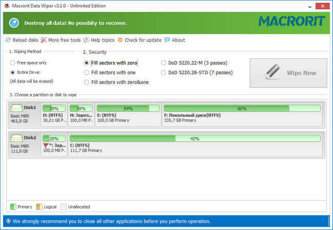 Macrorit Data Wiper Full