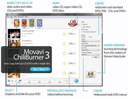 Movavi ChiliBurner Full