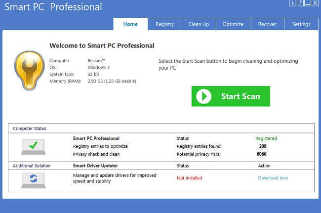 Smart PC Professional Full
