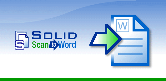 Solid Scan to Word Full