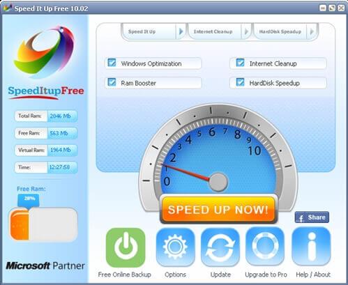 SpeedItUp Free Ücretsiz