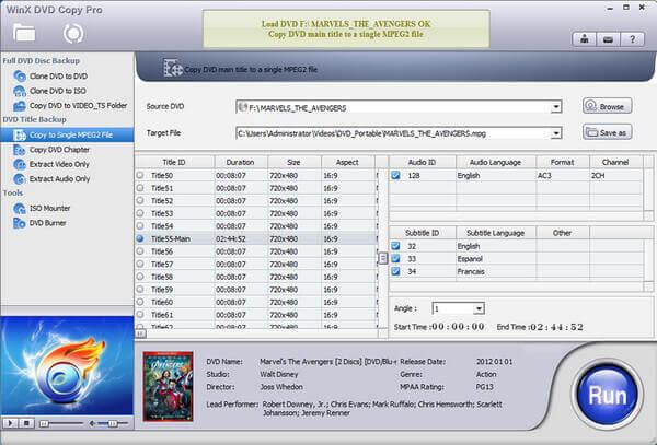 WinX DVD Copy Pro Full