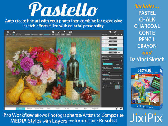 JixiPix Software Pastello Full