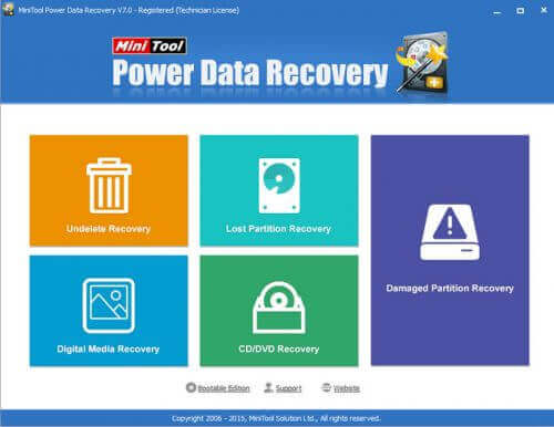 MiniTool Power Data Recovery Türkçe Full