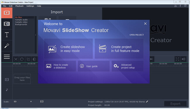 Movavi Slideshow Creator Full