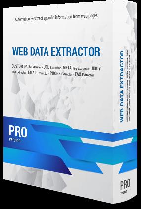 Web Data Extractor Pro Full