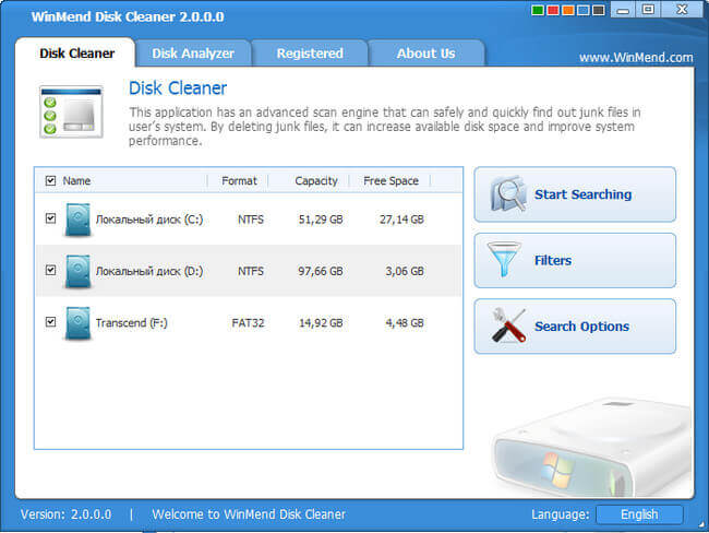 WinMend Disk Cleaner Full