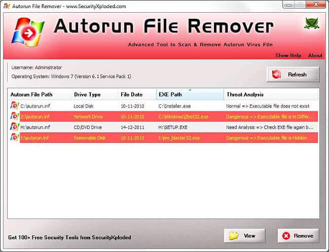 Autorun File Remover Full