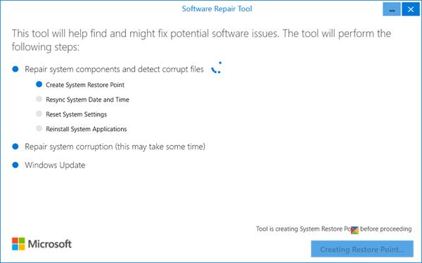 Microsoft Software Repair Tool Full