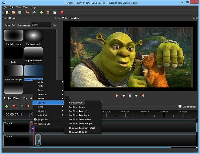 OpenShot Video Editor Full