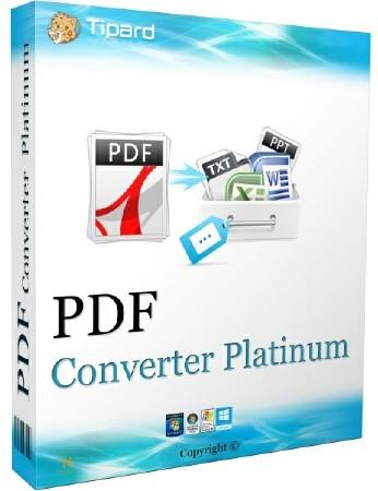 Tipard PDF Converter Platinum Full