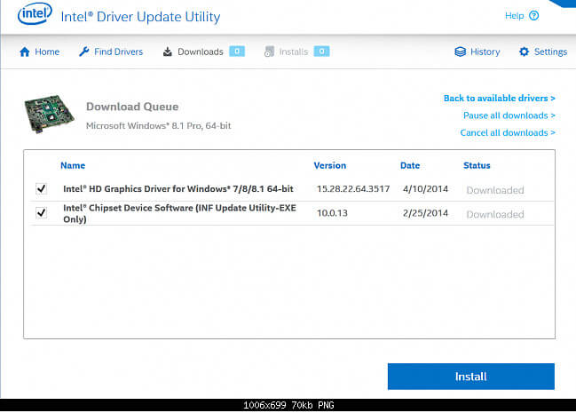 Intel Driver Update Utility Full 2.7.2.4 indir