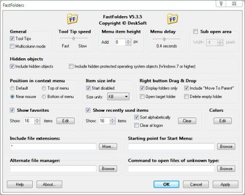 FastFolders Full